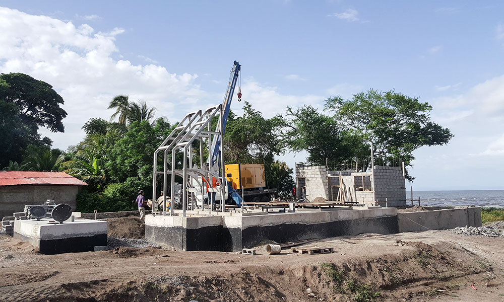Ludwig Pfeiffer Abwasseranlage Nicaragua
