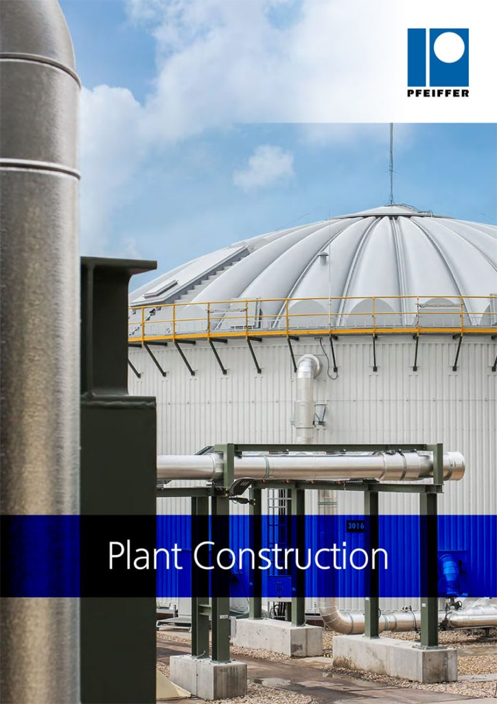 Ludwig Pfeiffer Plant construction