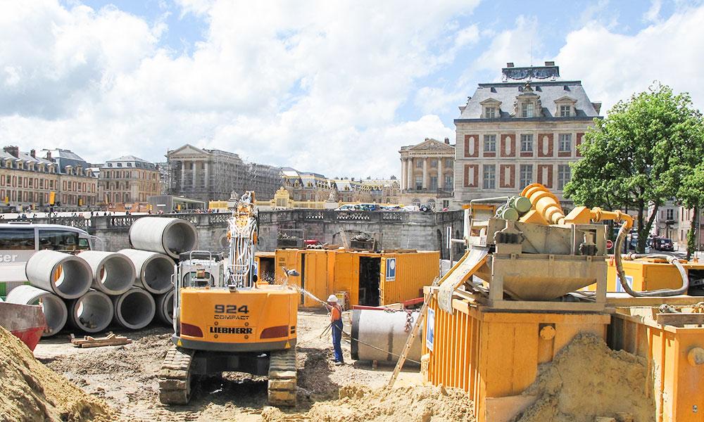 Ludwig Pfeiffer Versailles Microtunnel Wasserversorgung